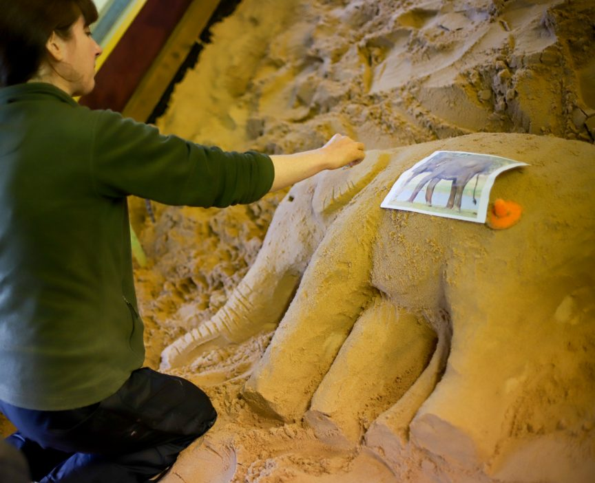 Sand Sculpture course uk