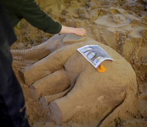 learn sand sculpture