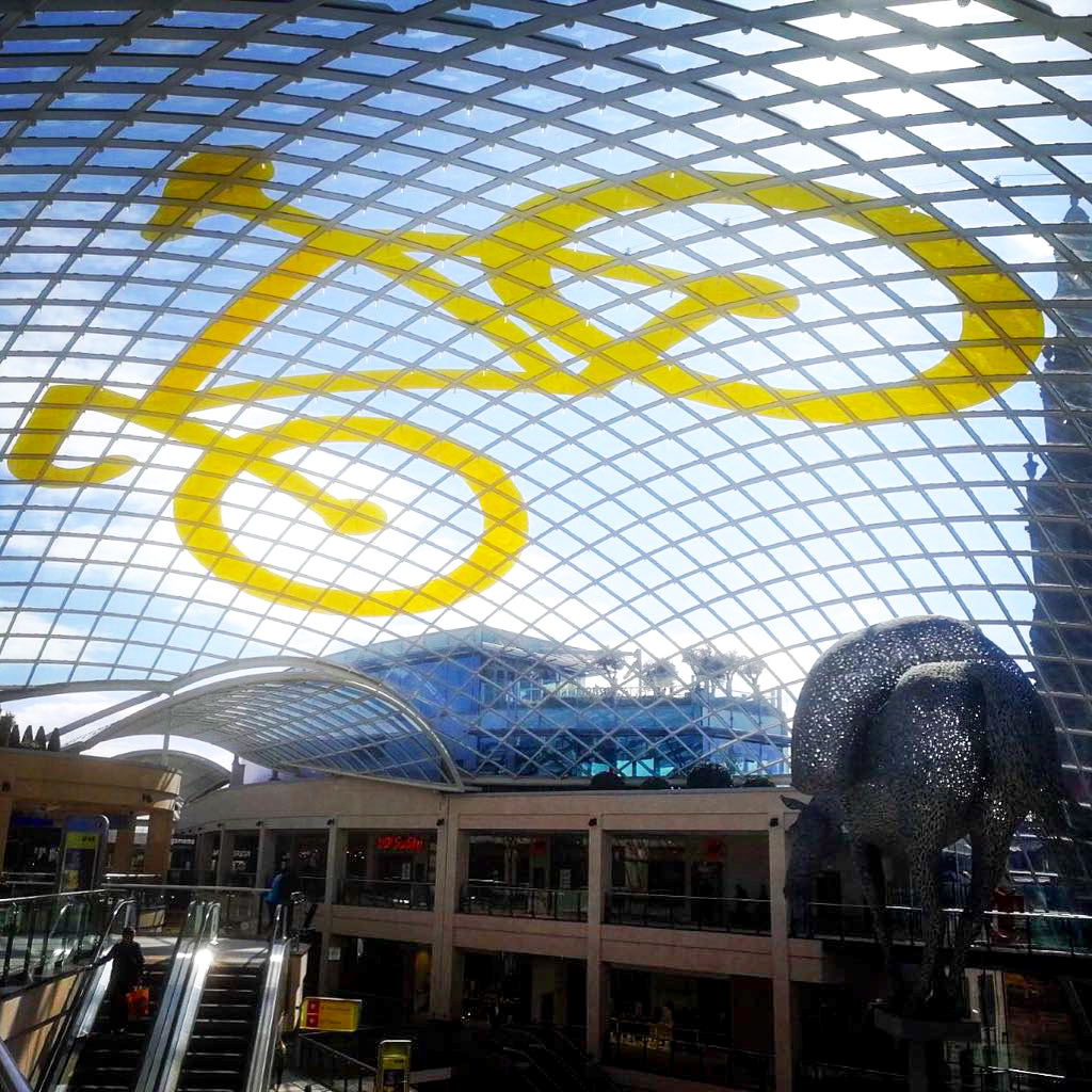 big yellow bike trinity leeds