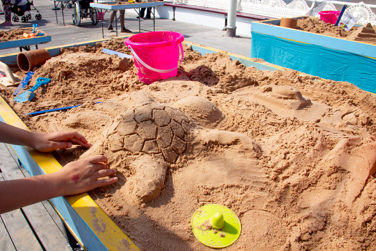 Sand sculpture workshops pop uk
