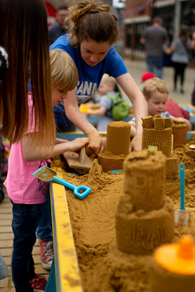family sand sculpture workshops uk