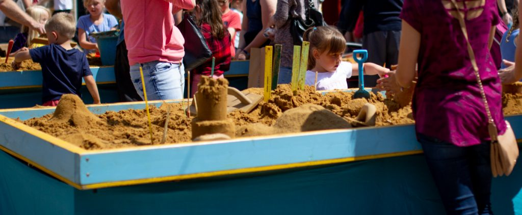 sand sculpture workshop events uk