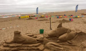 Beach sand sculpture workshops lincolnshire