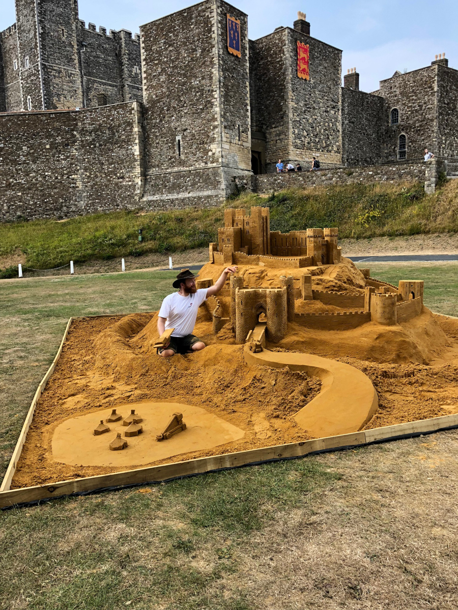 Jamie Wardley sand art