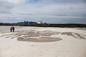 anamorphic art tiree music festival