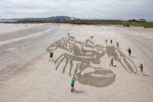 anamorphic sand drawing workshop
