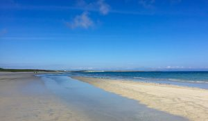 beach hebrides scotland