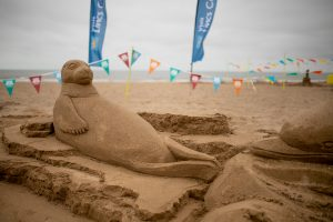 beach sand sculpture england