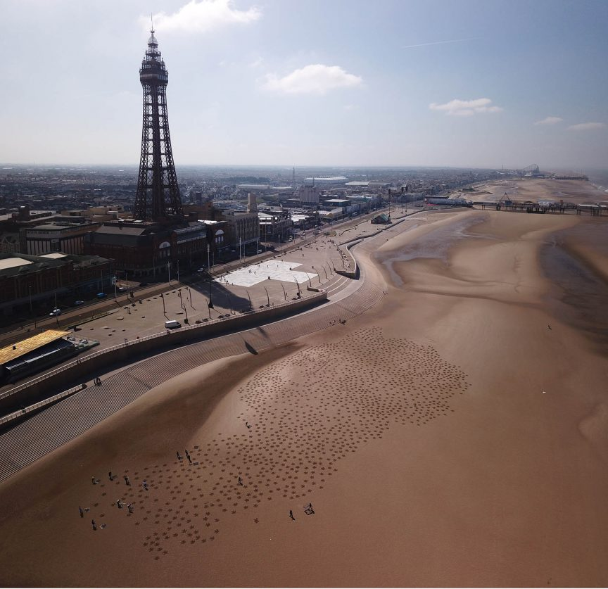 blackpool tower sand art uk