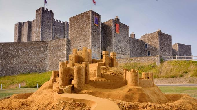 dover castle ultimate sand castle