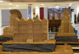 sand Sculpture event chester