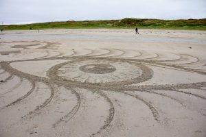sand drawing workshop scotland