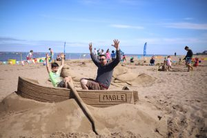sand sculpture family friendly events