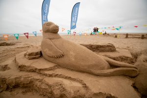 seal sand sculpture uk