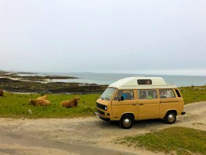 vw campervan t25 scotland