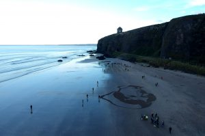 beach art ireland