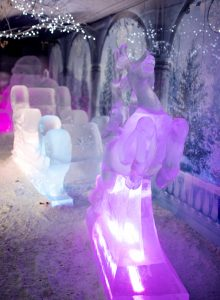 christmas themed ice sculptures ice sculpture UK