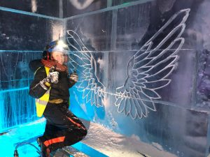 claire jamieson professional ice sculptor