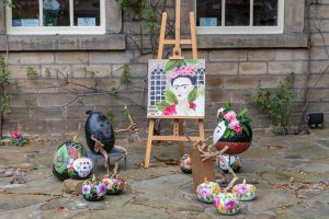 frida kahlo pumpkin festival hebden bridge