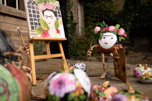 halloween pumpkin frida kahlo hebden bridge