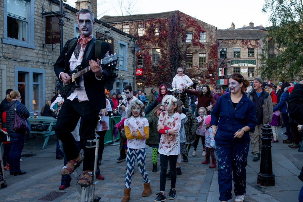 hebden bridge zombie parade family events