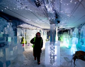 ice bar ice sculpture UK