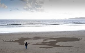pages of the sea sand art sand in your eye Getty Images c. Matthew Horwood