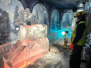 professional ice carving west yorkshire