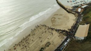 sand drawing wilfred owen