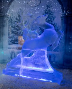 snow carving ice sculpture UK