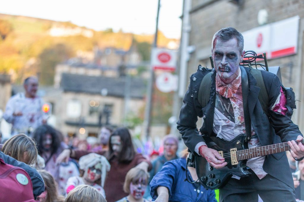 zombie parade hebden bridge family events