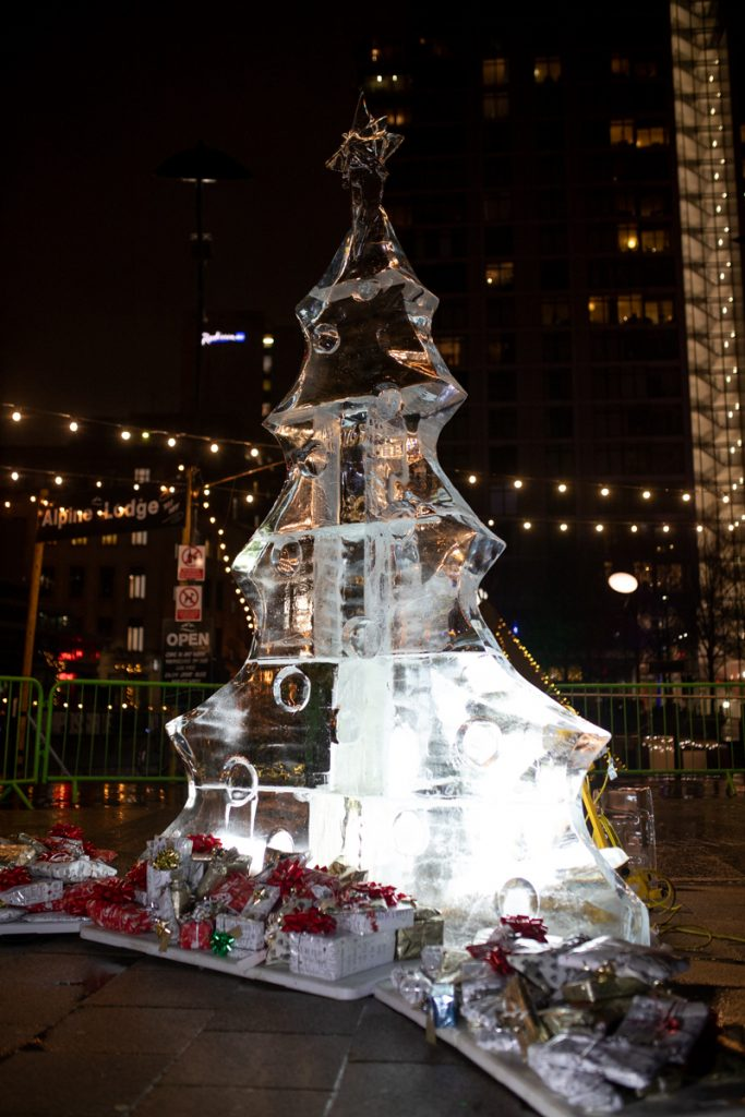 Ice Christmas Tree, Manchester