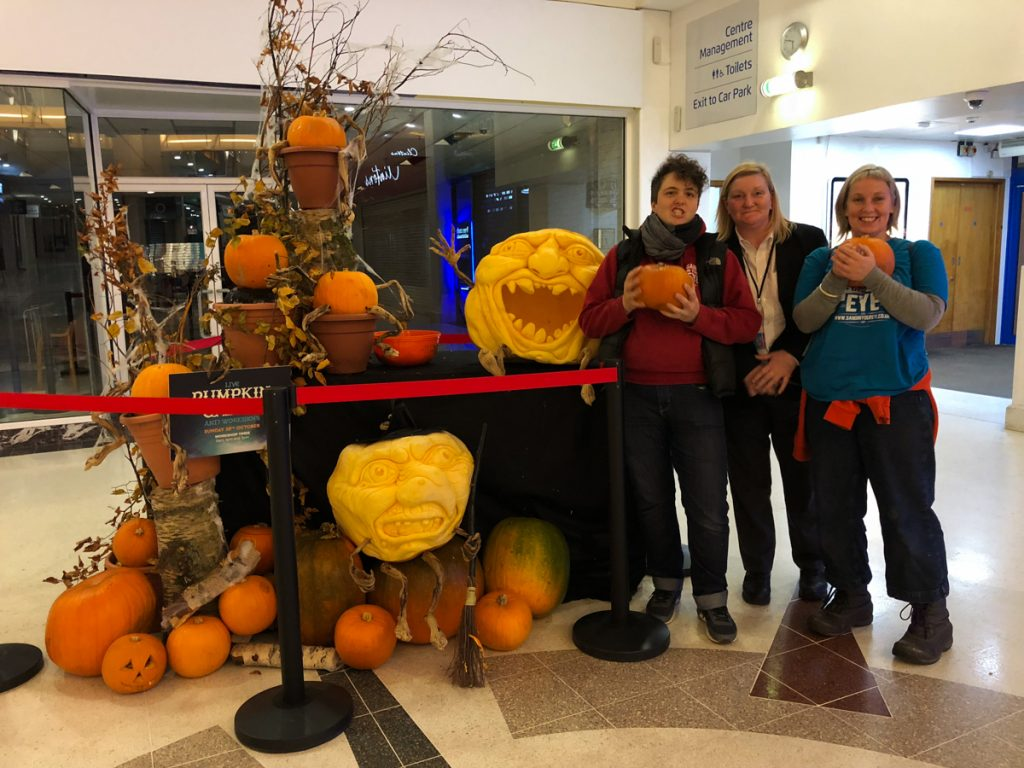 halloween half term Pumpkin carving workshops