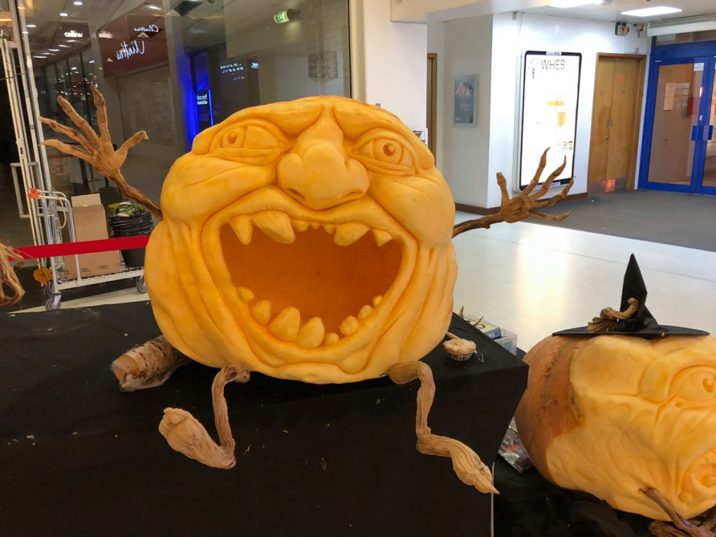 halloween pumpkin carving yorkshire