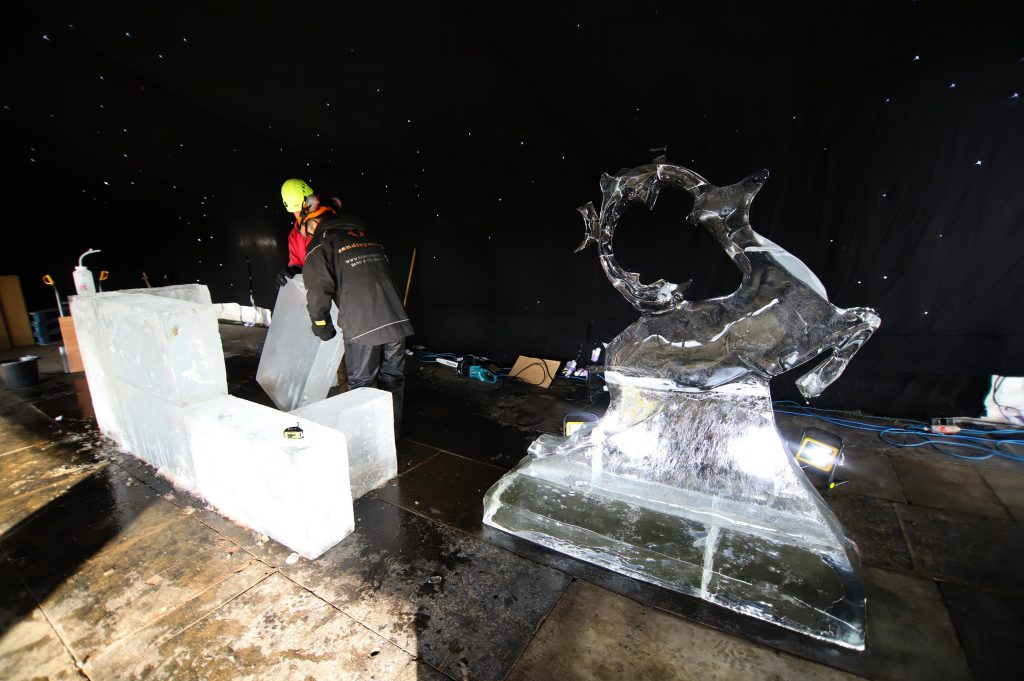 ice carving UK