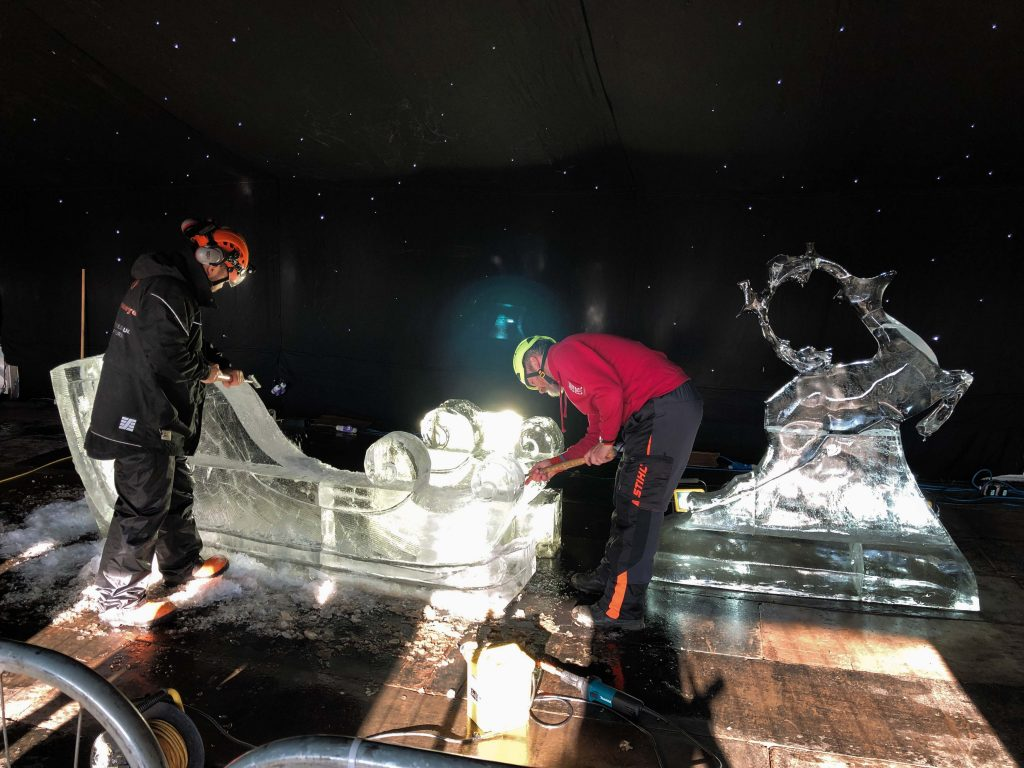 ice carving leeds