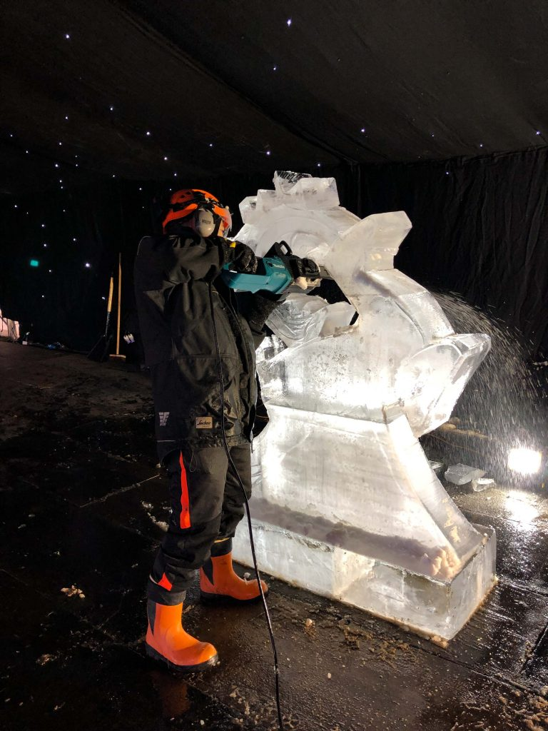 ice sculpture north west