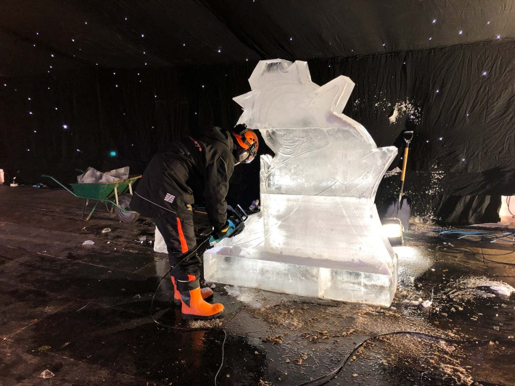 professional ice sculpture west yorkshire