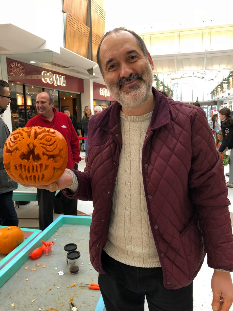pumpkin carving workshops UK