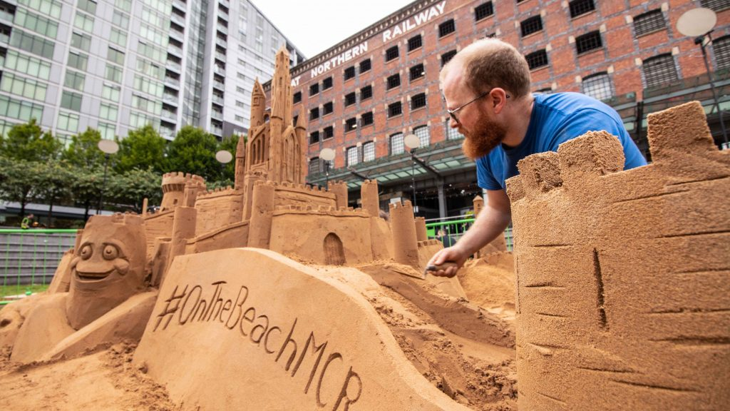 sand sculptor jamie wardley Phil nelson