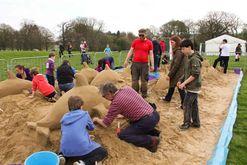 sand sculpture workshops yorkshire