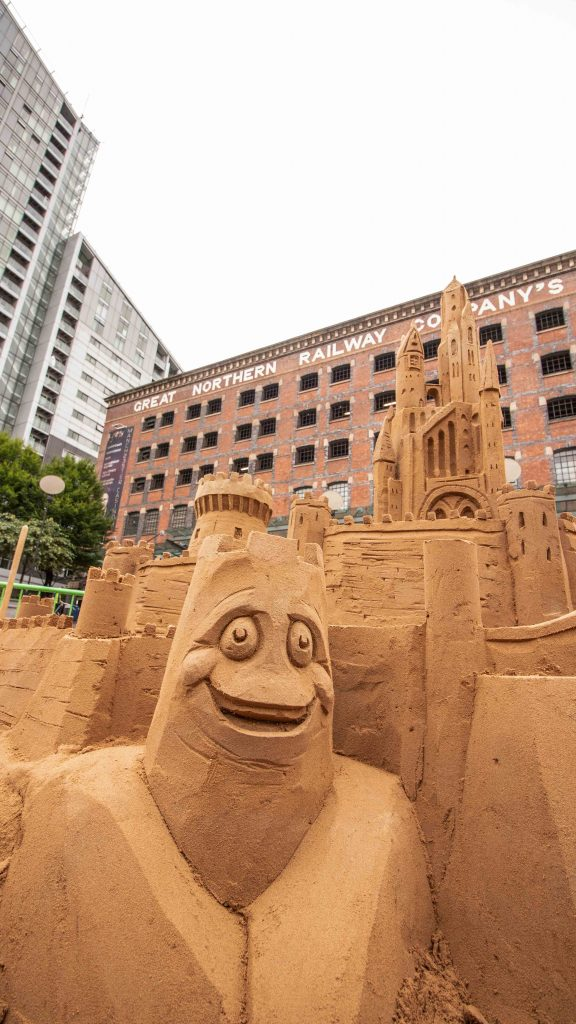 sand sculpture yorkshire Phil nelson