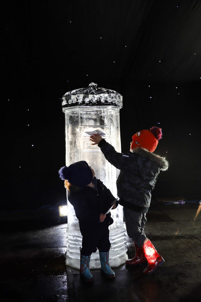 sandringham ice sculpture