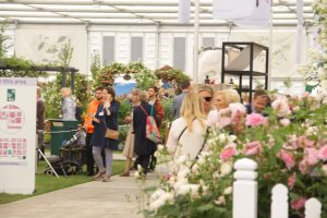 Mary berry Chelsea flower show