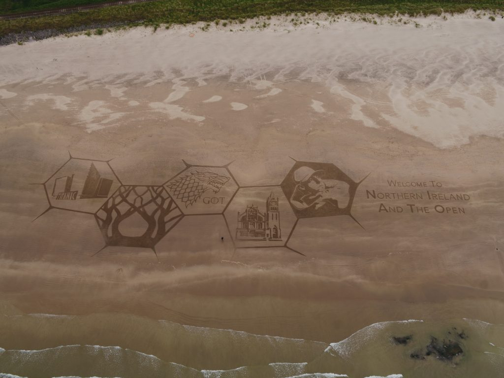 professional sand artists uk