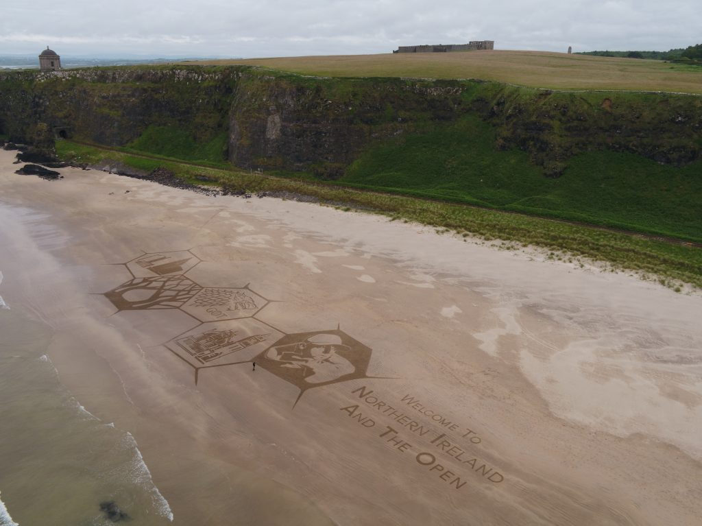 professional sand drawing uk