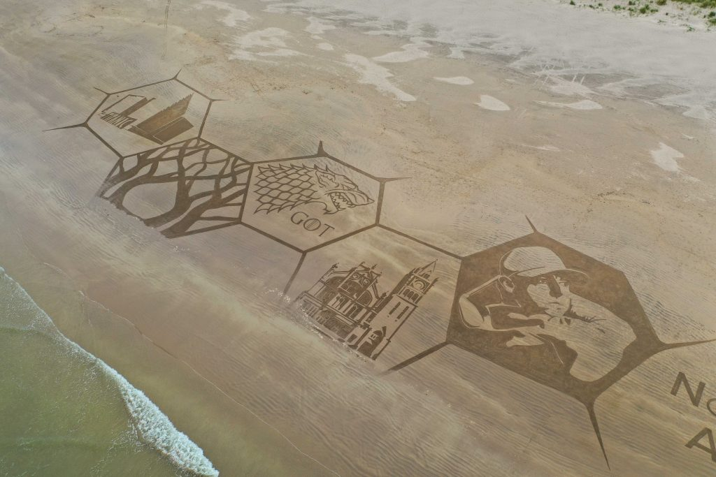 sand art northern ireland