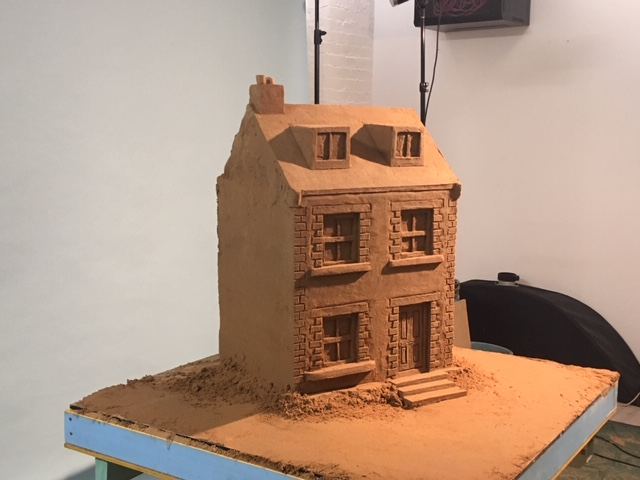 sand sculpture yorkshire tv Danny bird