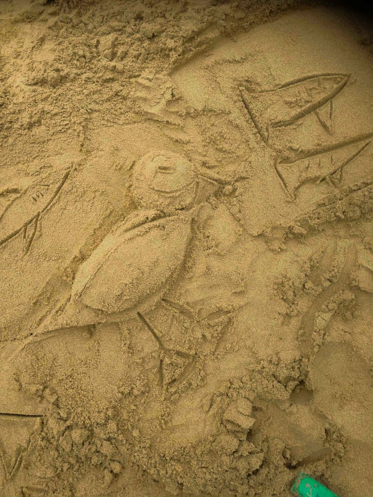 sand sculpture workshops great yorkshire show