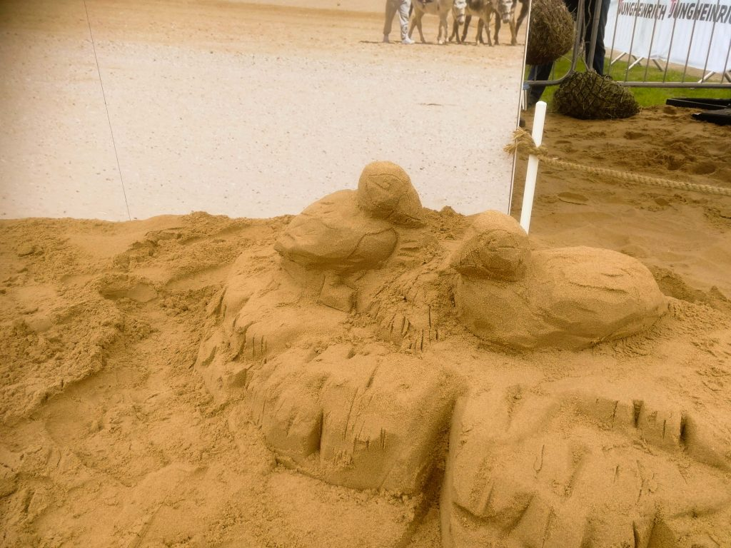 sand sculpture yorkshire show